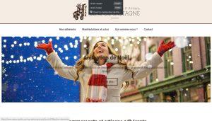 Création de site pour l'Union des Commerçants Sens-de-Bretagne